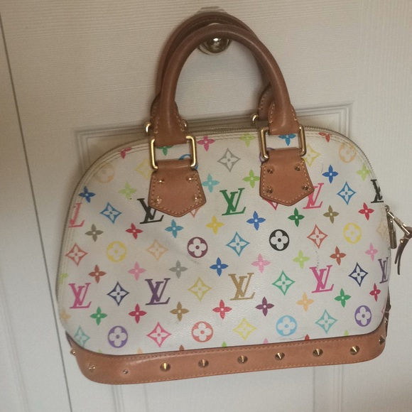 0997902d9bf47 Louis Vuitton Handbags - Louis Vuitton Alma Pm Takashi Murakami purse